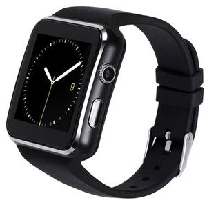 Smart Watch (Black) With Black Band
